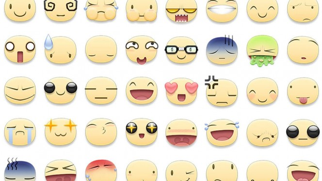 Smile! Tutte le emoticon per la chat Facebook