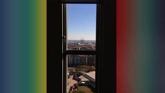 Test avec l'appli photo native d'iOS: réglage sur l'arrière-plan