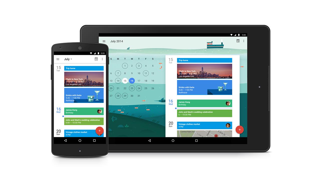 Google Calendar: nuovo look in stile Material Design e più funzioni