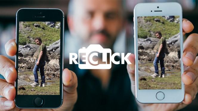 ReClick - Come sfocare lo sfondo delle foto con le app