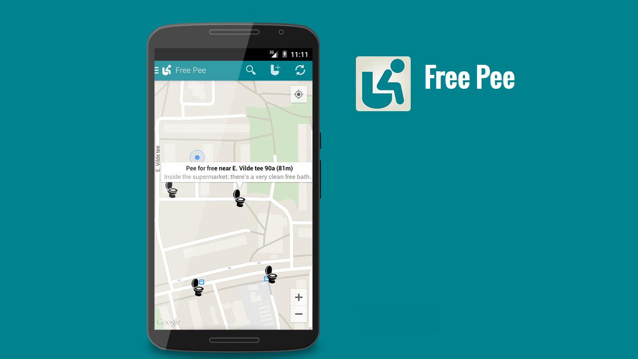 l\'app per trovare i bagni pubblici gratis