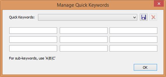 ACDSee Quick keywords adiciona tags às suas imagens com apenas um clique