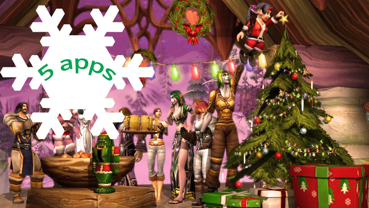 5 applicazioni natalizie per rendere le feste ancora più speciali