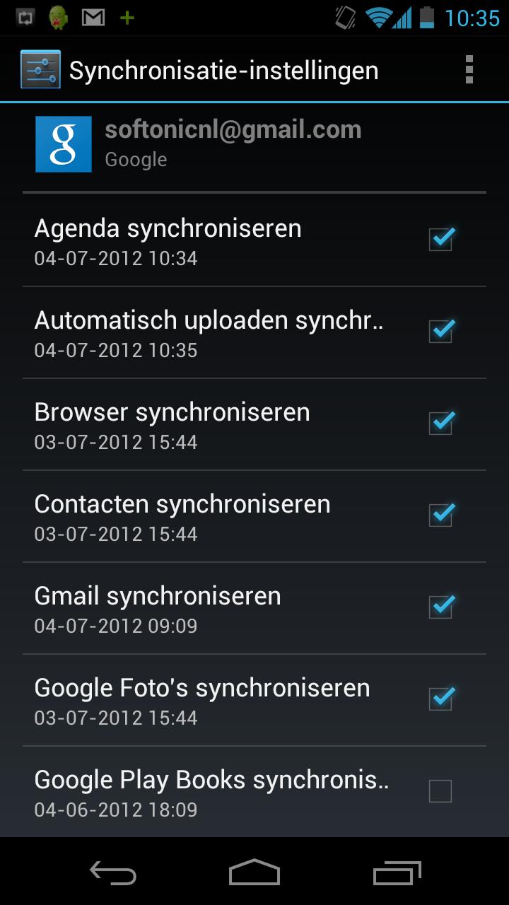iphone samsung agenda synchroniseren