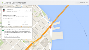 Vind vanaf nu je telefoon terug met Android Device Manager