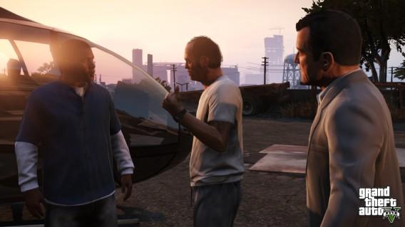 GTA 5 s'articule autour de 3 hommes : Franklin, Michael et Trevor