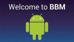 BlackBerry Messenger voor Android gelekt