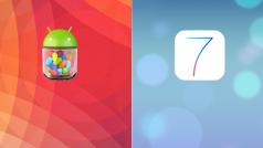 iOS 7 vs Android 4.3: een eerlijke strijd