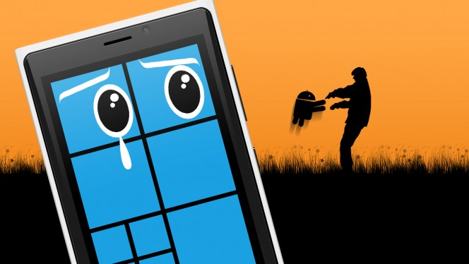 Android vs Windows Phone: de vloek van Google