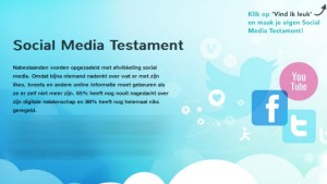Rouwen anno 2013: bereid je voor met het Social Media Testament