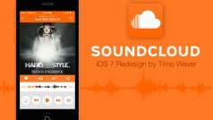 Nederlandse designer ontwerpt concept van SoundCloud voor iOS 7