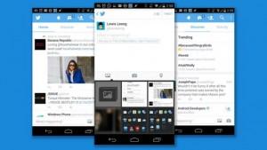 Vernieuwd design mobiele Twitter app met foto-update