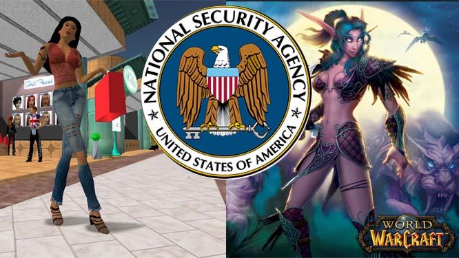 NSA infiltreert online games als World of Warcraft en Second Life