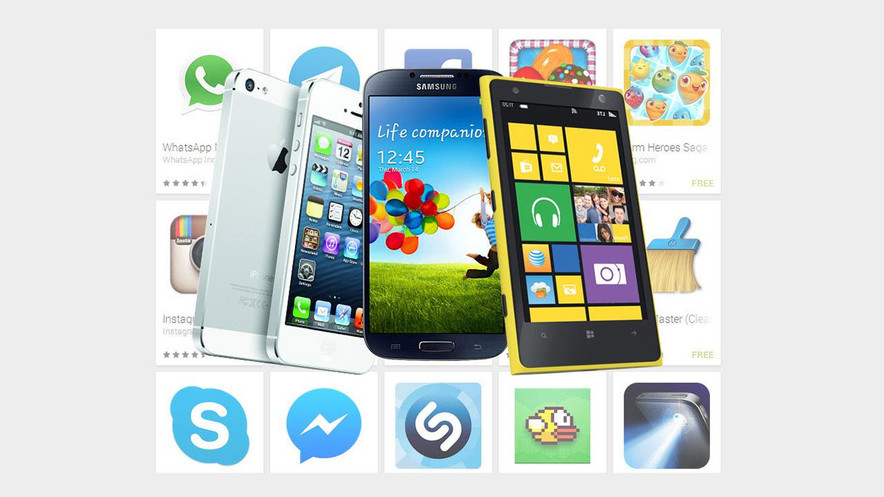 Android, iOS of Windows Phone: op welk platform vind je de beste apps?