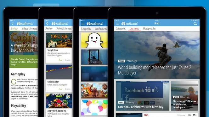 De nieuwe Softonic-app: mobiele app-gids voor telefoon en tablet