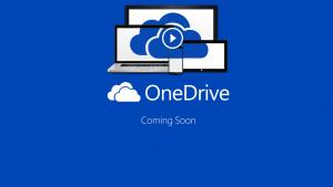 Eerste afbeeldingen van Microsoft OneDrive gelekt