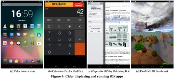 Cider: iOS-apps op een Android