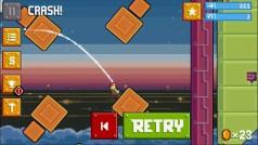 Rovio's nieuwe spel RETRY is net zo frustrerend als Flappy Bird