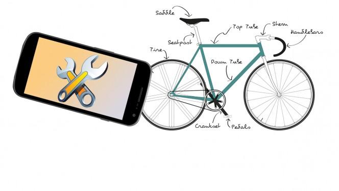 Plak je band met behulp van een app - en andere handige fietstips!