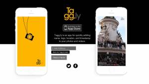 Tagg.ly voegt eenvoudig een watermerk toe aan je foto's