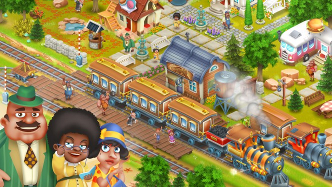 Hay Day - beginnersgids voor update The Town