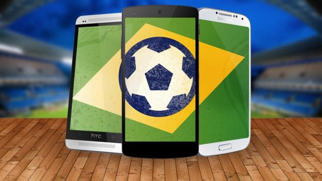 WK 2014: bekijk de wedstrijden op je smartphone of tablet