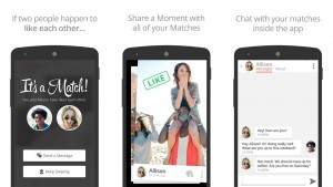 Van dating-app naar social network: Tinder lanceert foto-service Moments