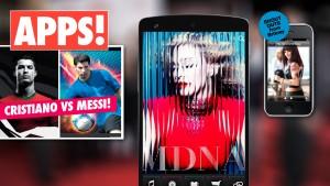 Messi, Kim Kardashian, Madonna… Geniet van de beste celebrity-apps!