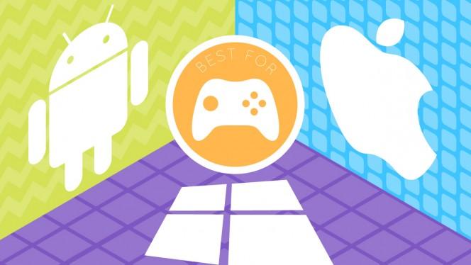 Android, iOS of Windows Phone: wat is het beste besturingssysteem voor games?