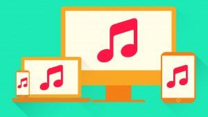 Draadloos muziek versturen van computer naar telefoon