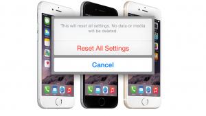 iOS 8: 'Herstel alle instellingen'-bug wist iCloud-bestanden