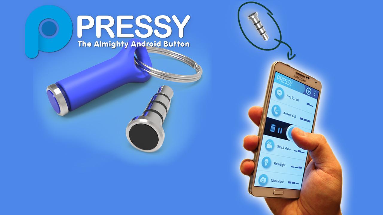 Pressy: Android aansturen met maar één knop