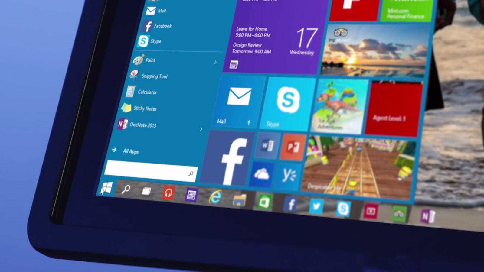 Windows 10 Technical Preview ontvangt update met nieuwe touchpad-gebaren
