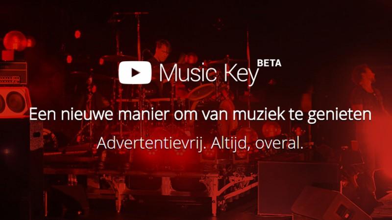 Google brengt Play Music en YouTube samen in één Music Key-abonnement