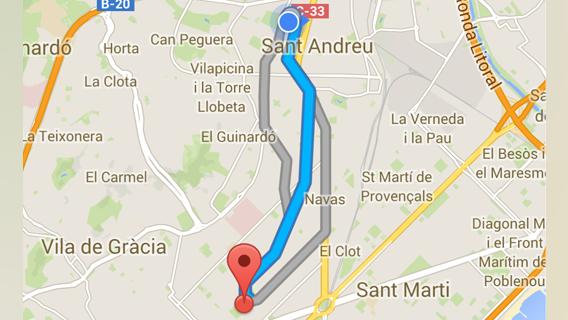 Mapa Y Ubicación Del Logo Azul Mapa Logotipo De: 7 Onmisbare Tips Voor Google Maps Op Je IPhone En Android