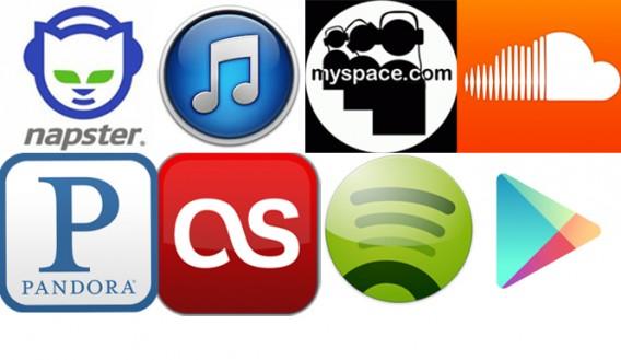 オンラインミュージックの進化