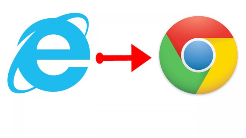 すぐにできる!Internet ExplorerのブックマークをGoogle Chromeに取り込む方法