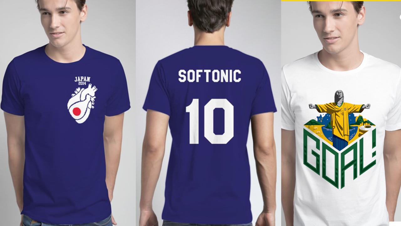 ワールドカップ開催間近!オリジナルW杯応援Tシャツを作れるSnapteeがアツい!