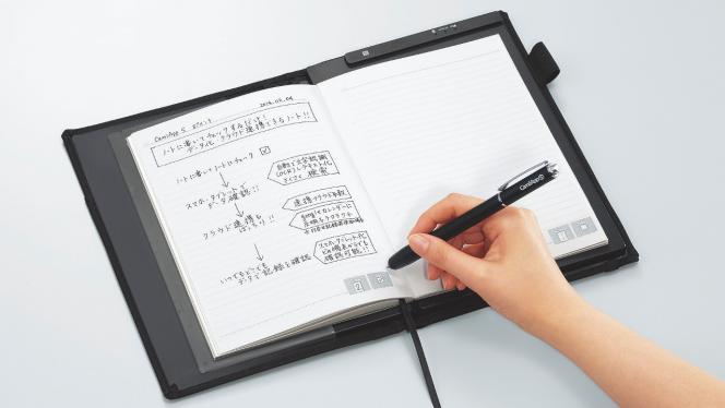 スキャン不要で手書き内容をデータ化できるデジタルノート「CamiApp S」が登場