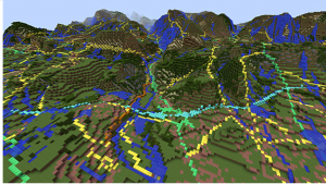 イギリス全土の地形を「Minecraft」で構築