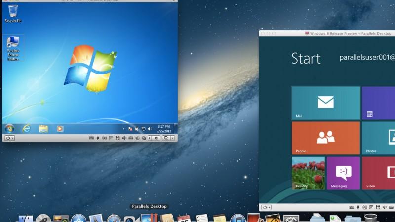 Mac上でWindowsが使えちゃうParallels Desktop 10 for Mac