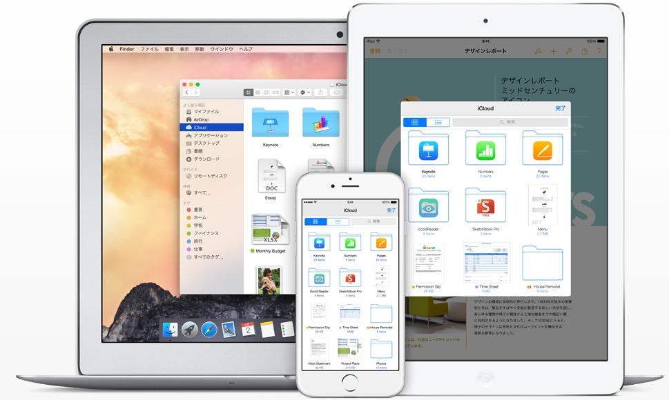 iOS8で「iCloud Drive」にアップグレードしてはいけない理由