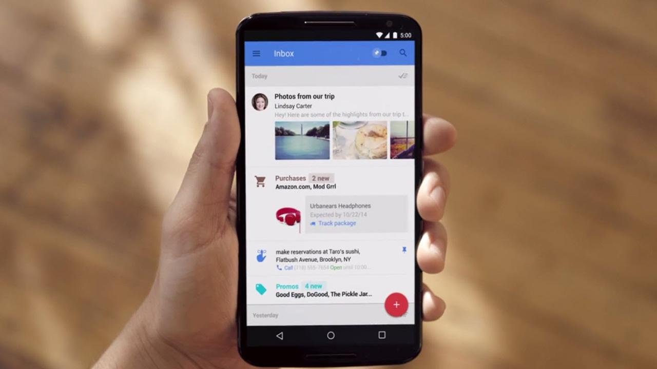 """Gmailを進化させた""""メールxタスク管理""""アプリ「Inbox」をGoogleがリリース"""