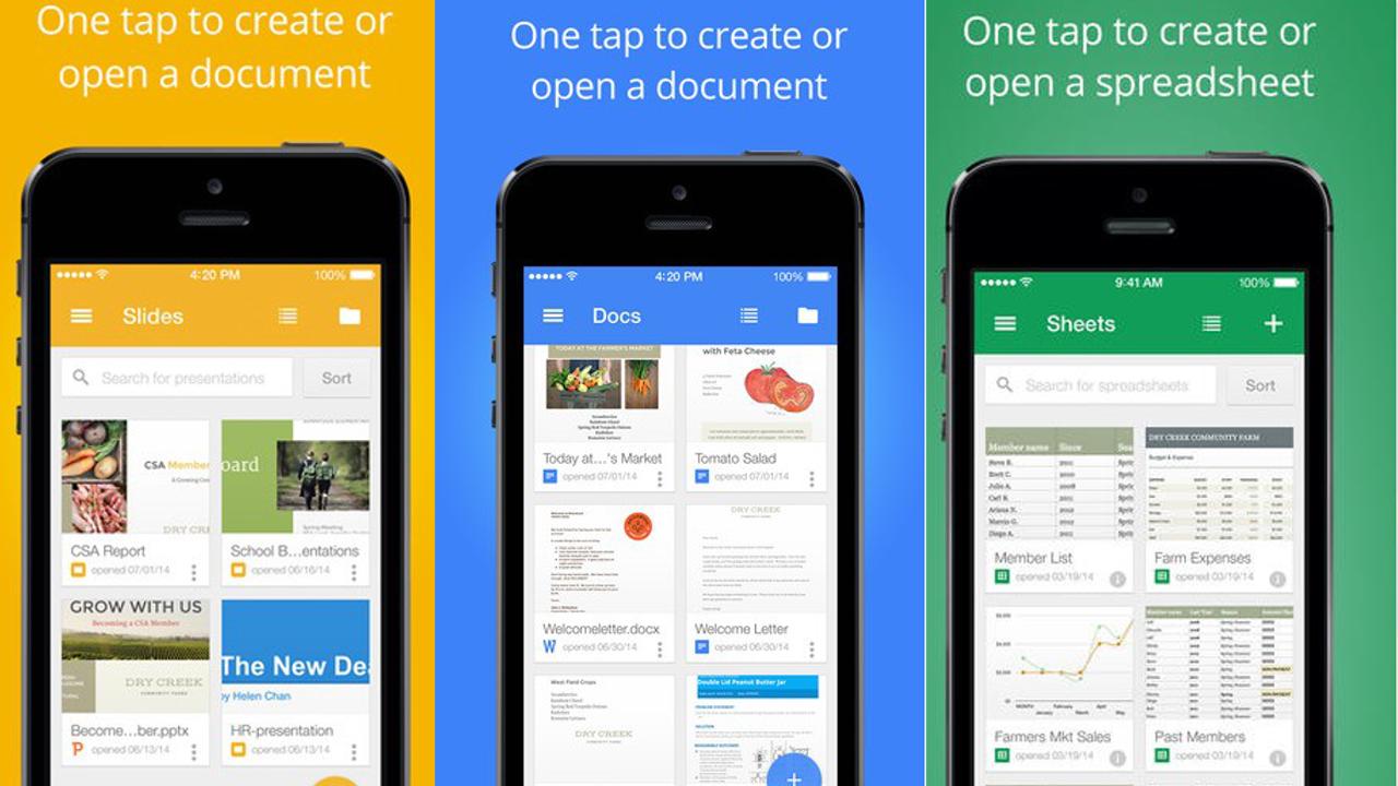 パワポ・エクセル・ワードをスマホで編集できるGoogleの無料アプリがアップデート 新着共有アイテムを通知