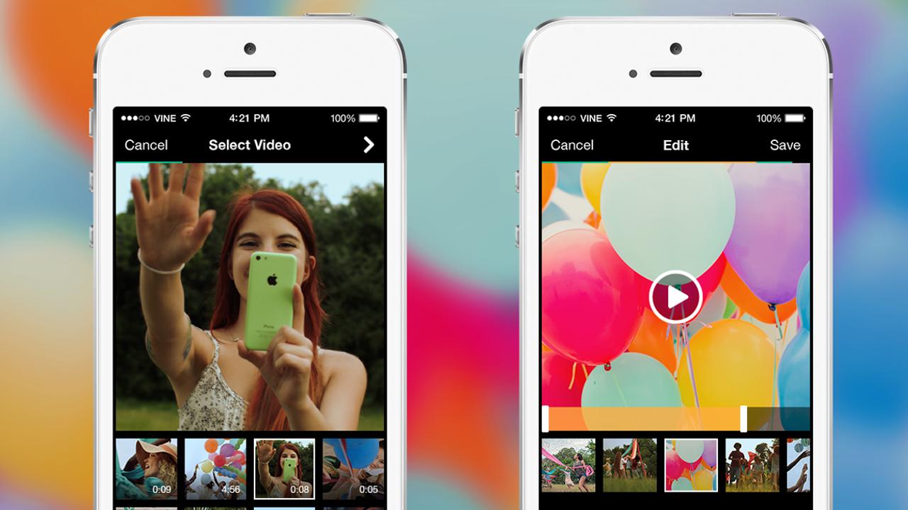 iOS用Vineがアップデート カメラロールから直接投稿が可能に