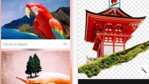 「Adobe Photoshop Mix」iOS版アップデート 指での「スマート切り抜き機能」が追加