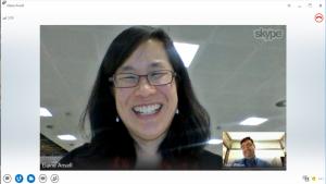 SkypeとLync間で動画通話が可能に 新スカイプはタッチでの操作に対応