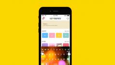 iPhone用Yahoo!キーボード登場 スワイプ入力切替&着せ替えデザイン100種