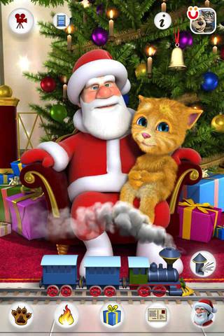 Fale com o Papai Noel com o Talking Santa