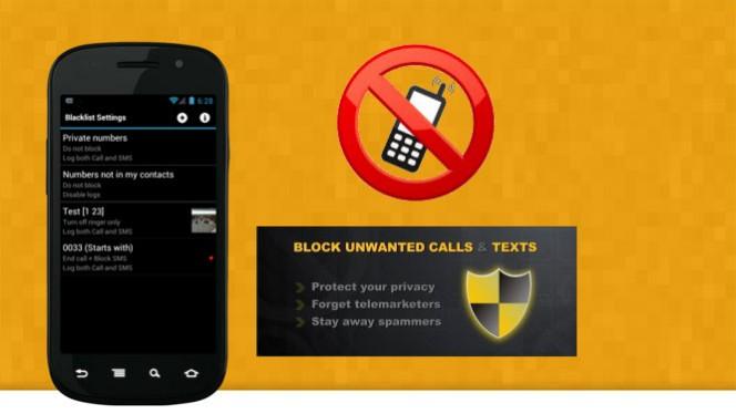 Como bloquear números e chamadas em um celular Android